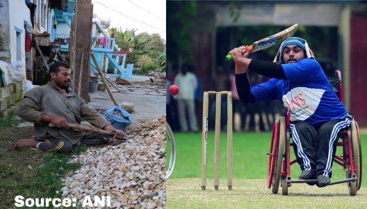ex cricket captain works as a labourer