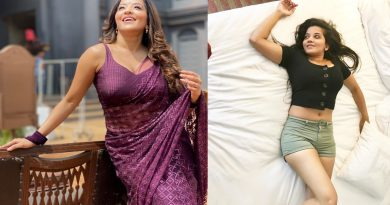 jhuma boudi aka monalisa goes viral again in a hot look